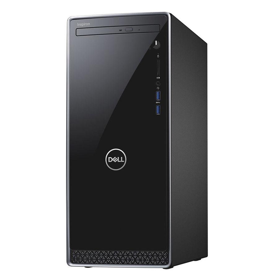 PC Dell Inspiron 3670MT MTI31410-4G-1T Core i3-8100 / Free Dos (Black) - Hàng Chính Hãng