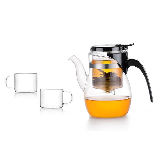 Bộ bình trà thủy tinh Samadoyo NA001 600ml