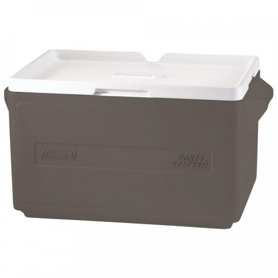 Thùng Giữ Nhiệt Coleman 48 lon 3000000483 - Xám - Cooler 48 Can Stacker (Grey)