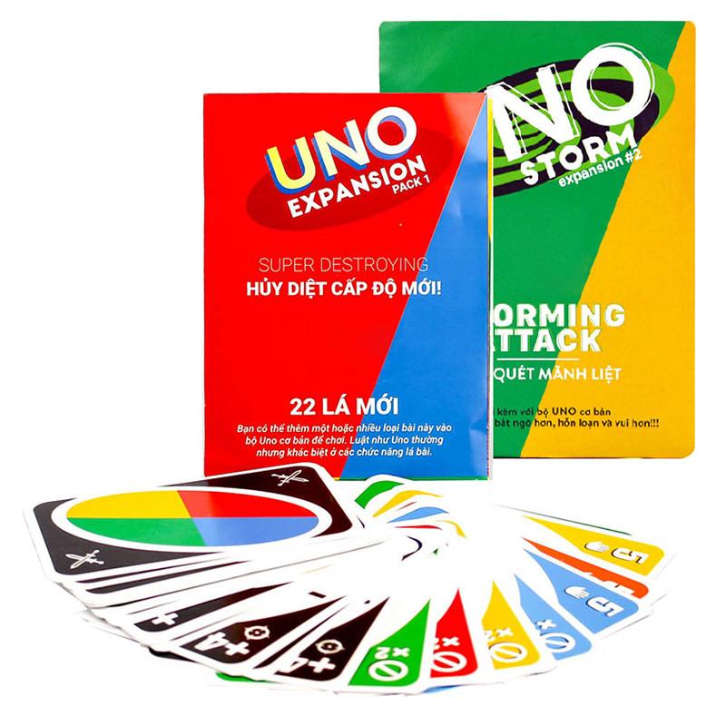 Combo Bài Uno Đại Chiến Mở Rộng - Uno Expansion  Uno Storm