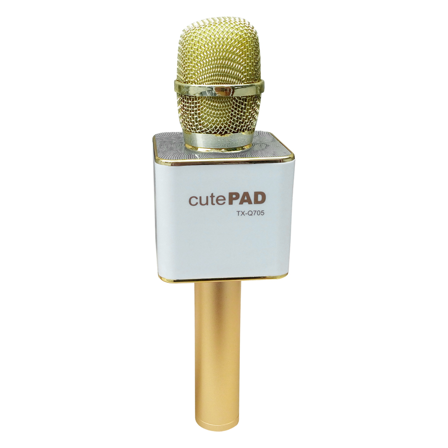 Micro Karaoke Tích Hợp Loa Bluetooth cutePad TX-Q705