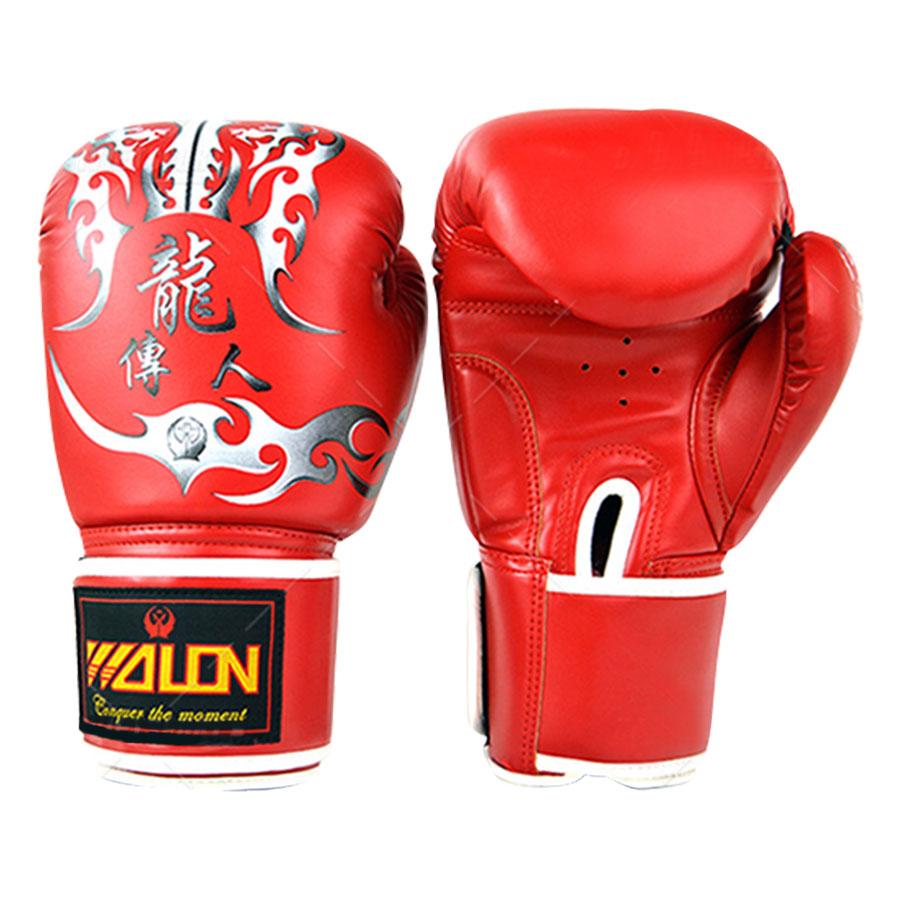 Găng Tay Boxing Thi Đấu Walon - Đỏ