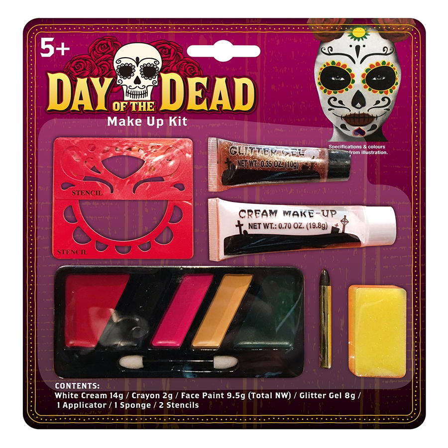 Bộ Trang Điểm/Hóa Trang Giả Người Chết Halloween Uncle Bills Uh00720