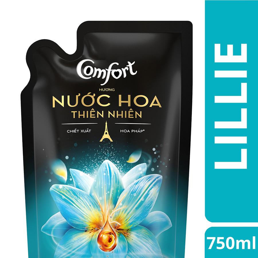 Comfort Hương Nước Hoa Thiên Nhiên Lillie Túi (750ml)