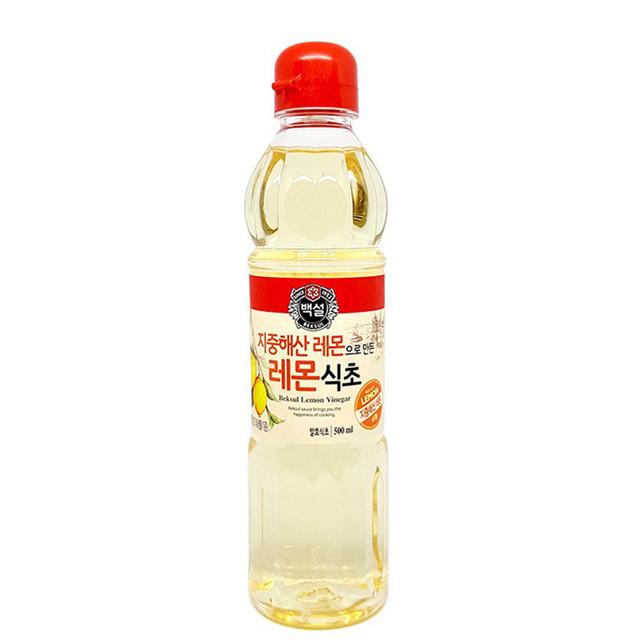 Giấm Vị Chanh CJ FOODS 500ml - Nhập Khẩu Hàn Quốc