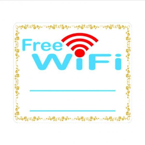 Bảng Chỉ Dẫn Wifi - BV-023