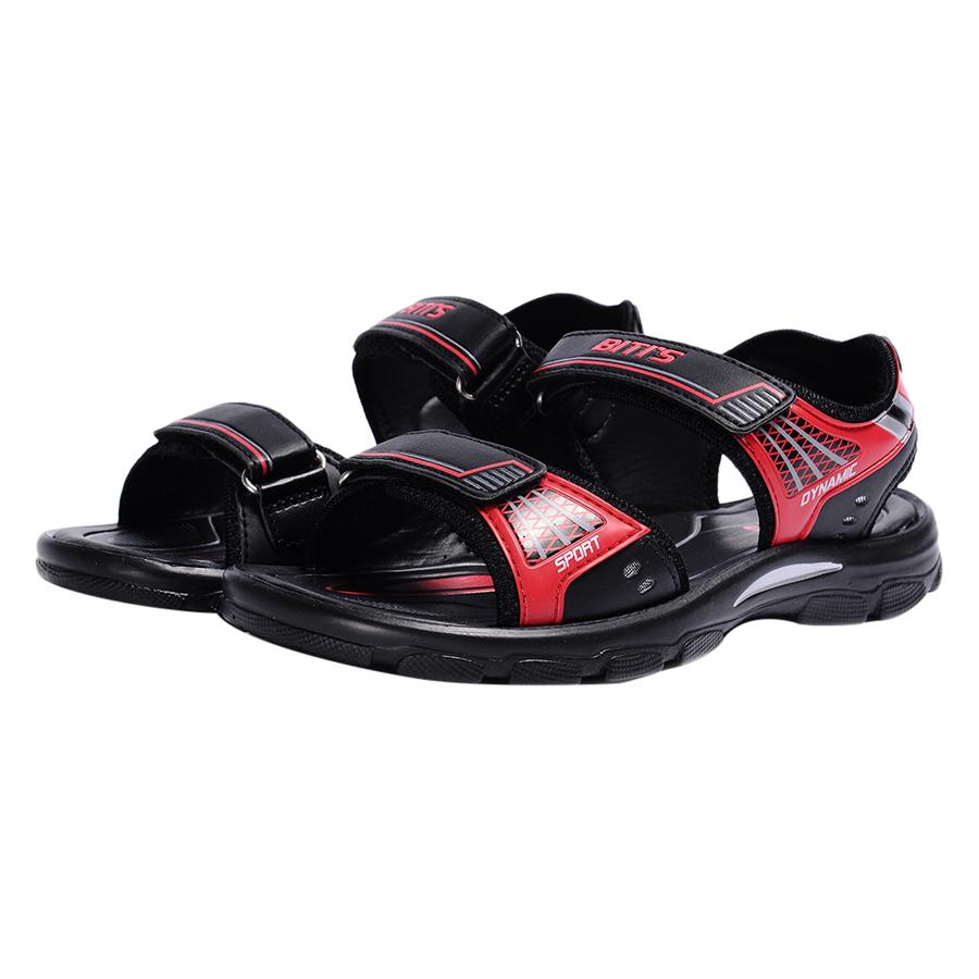 Giày Sandal Si - PU Bé Trai Biti's DPB054600DOO - Đỏ