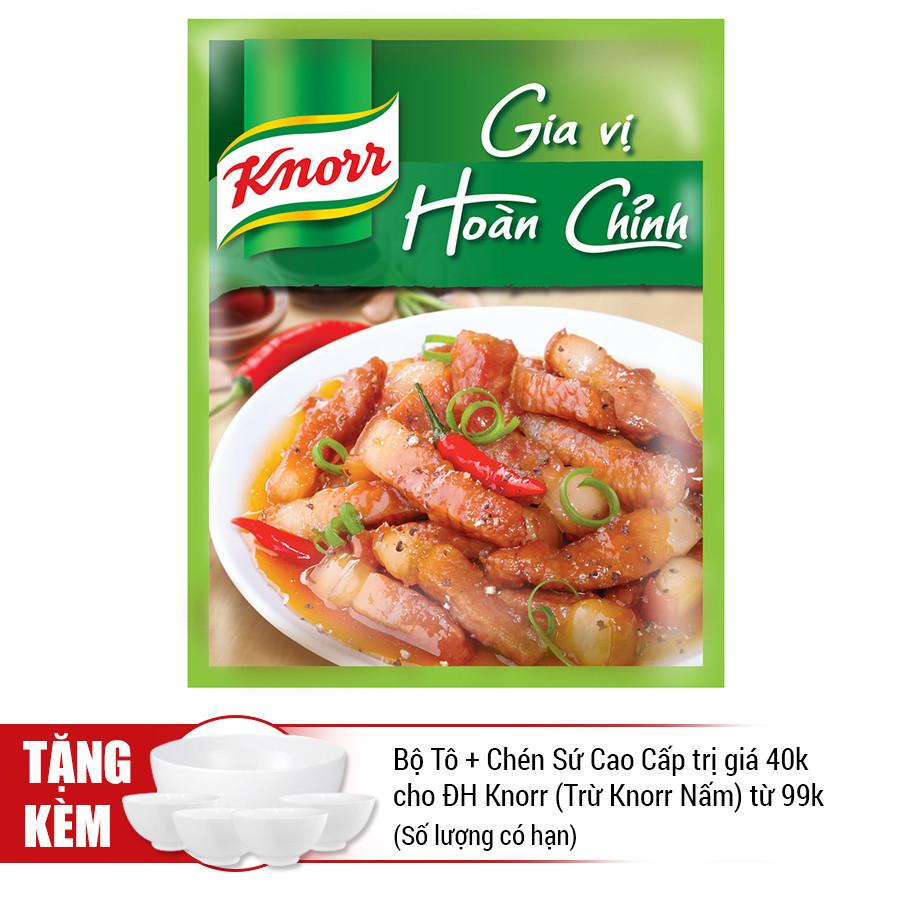 Knorr Gia Vị Hoàn Chỉnh Thịt Kho (28g) - 21006076
