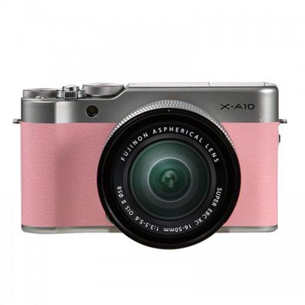 Máy Ảnh Fujifilm X-A10 Kit XC16-50mm f3.5-5.6 OIS (Hồng) + Thẻ Nhớ Sandisk 16GB Tốc Độ 48MB/s + Túi Đựng Máy Ảnh Fujifilm