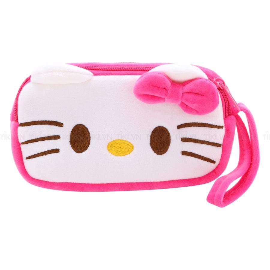 Bóp Viết Vải Bông Thanh Trà 4008-Hello Kitty