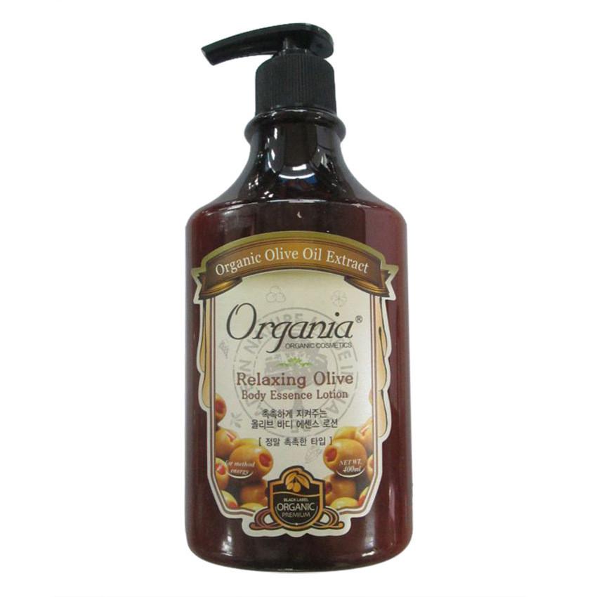 Sữa dưỡng thể Olive 400g Organia