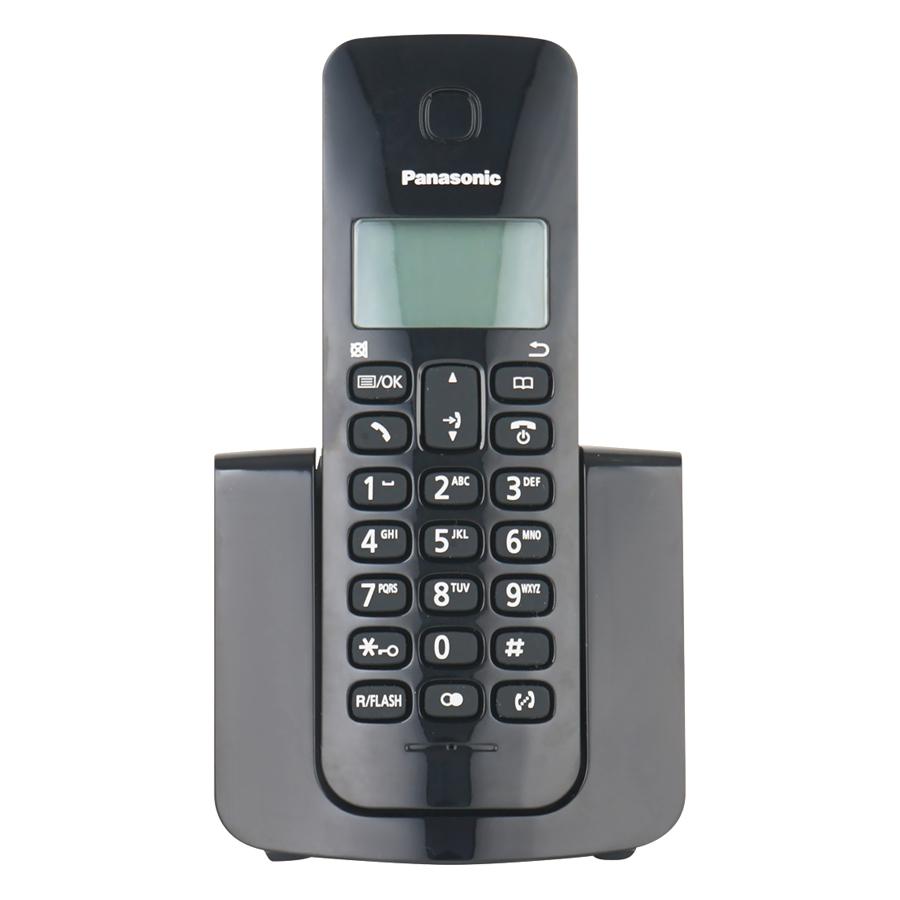 Điện Thoại Bàn Panasonic KX-TGB110 (Đen) - Hàng Chính Hãng