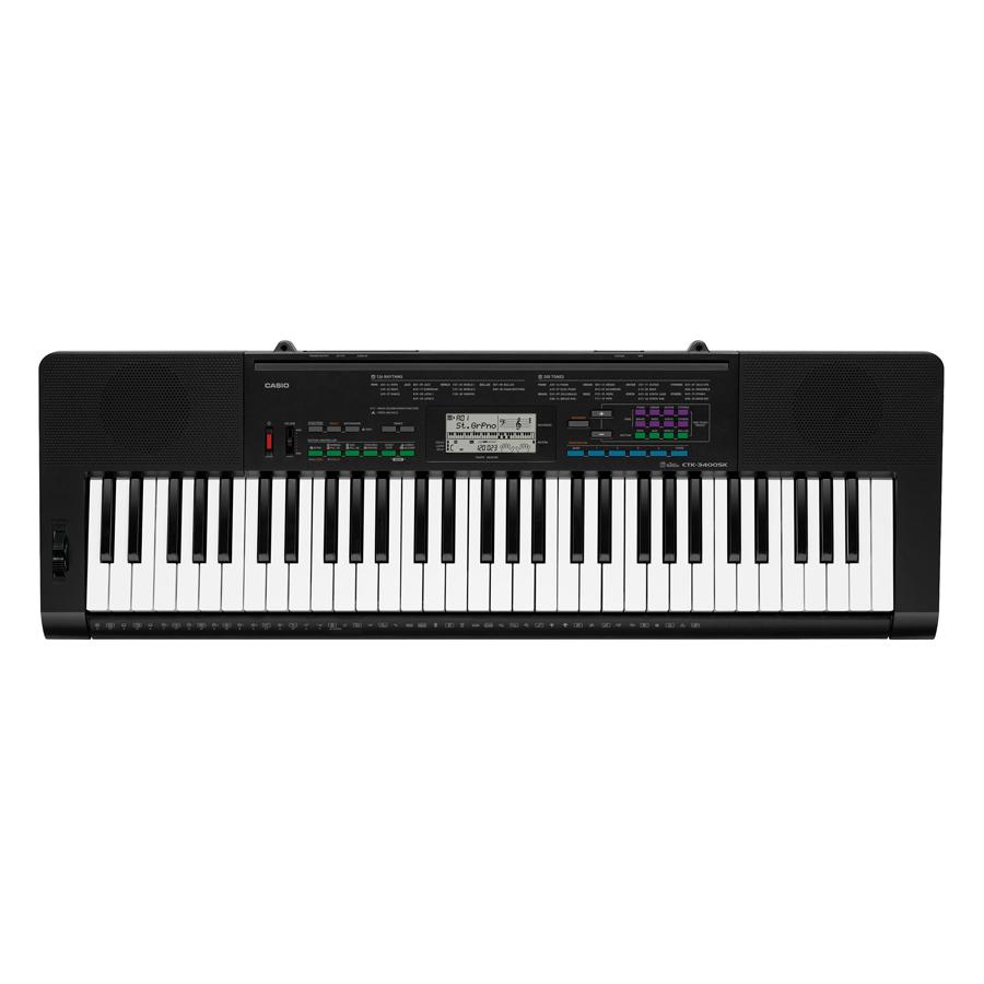 Đàn Organ Casio CTK-3400 (Tặng Kèm Chân + Bao)