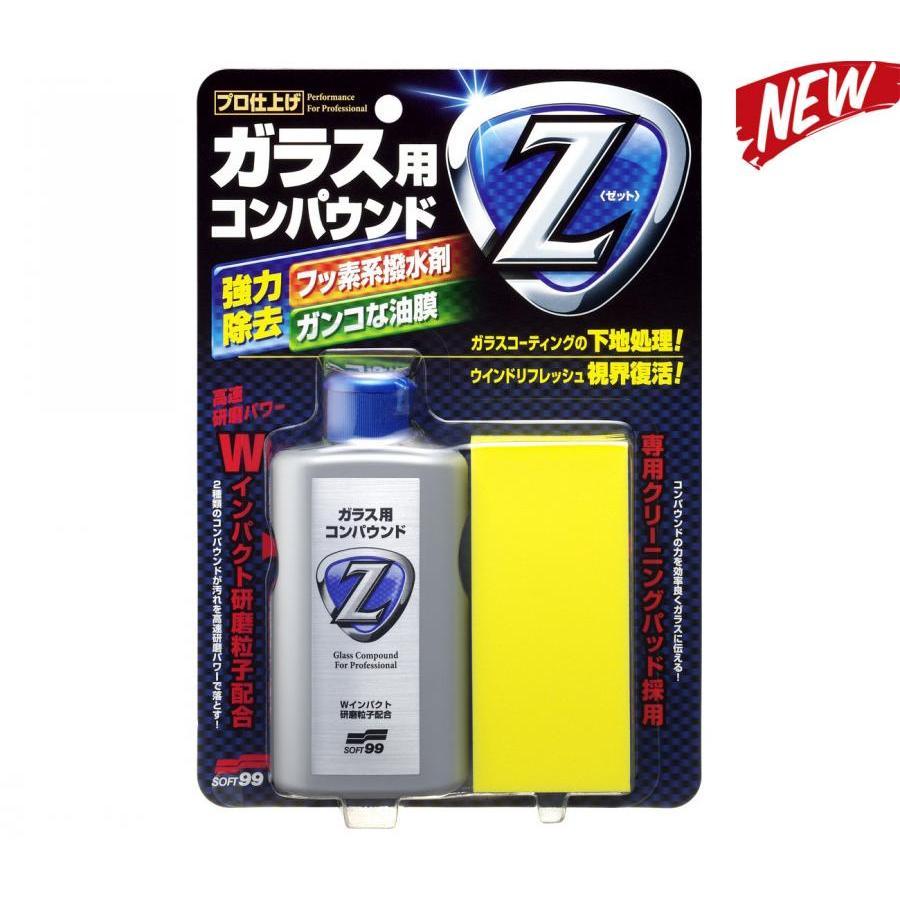 Dung dịch tẩy ố kính chuyên dụng Compound Z G-42   Soft99