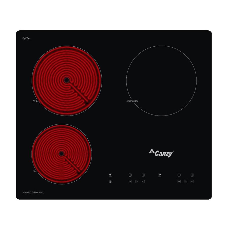 Bếp 2 Hồng Ngoại - 1 Điện Từ Canzy CZ500-3IHL