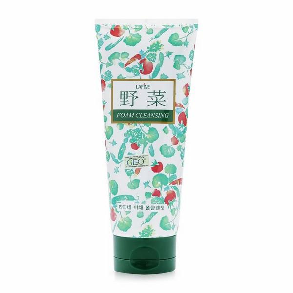 Sữa Rửa Mặt Hoa Quả Trị Mụn Dưỡng Trắng Vegetable Foam Cleansing Geo_Py17 (200ml)