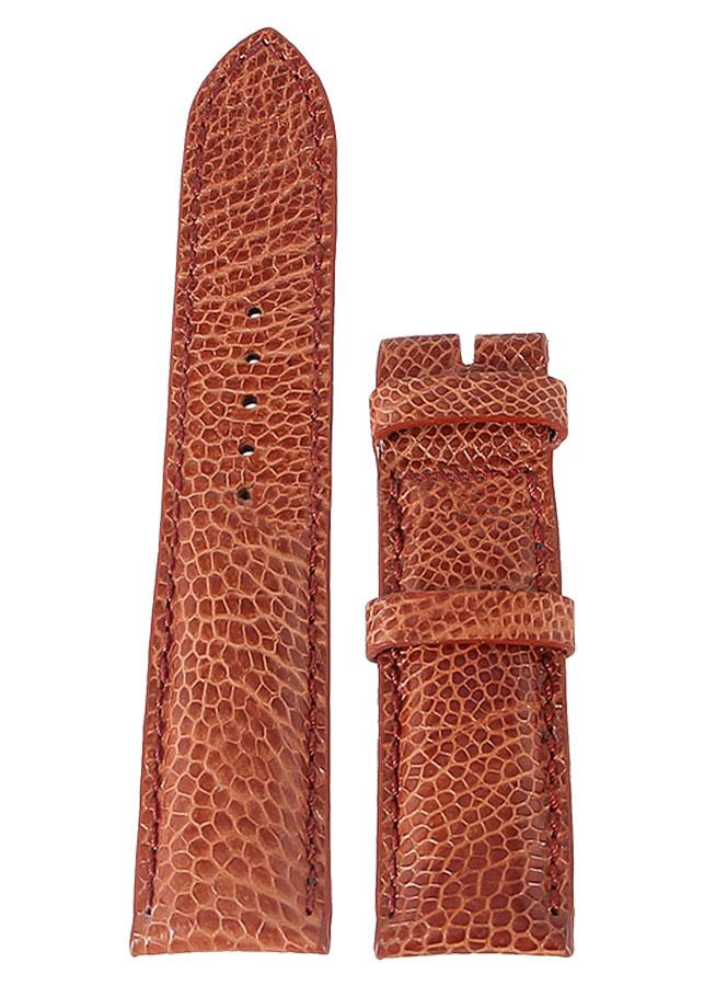 Dây Đồng Hồ Da Đà Điểu Size Lớn Huy Hoàng HT8411 - Vàng