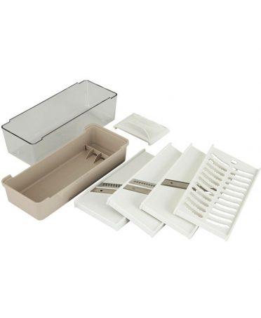 Set 5 dụng cụ nạo đa năng kèm hộp KAI nội địa Nhật Bản
