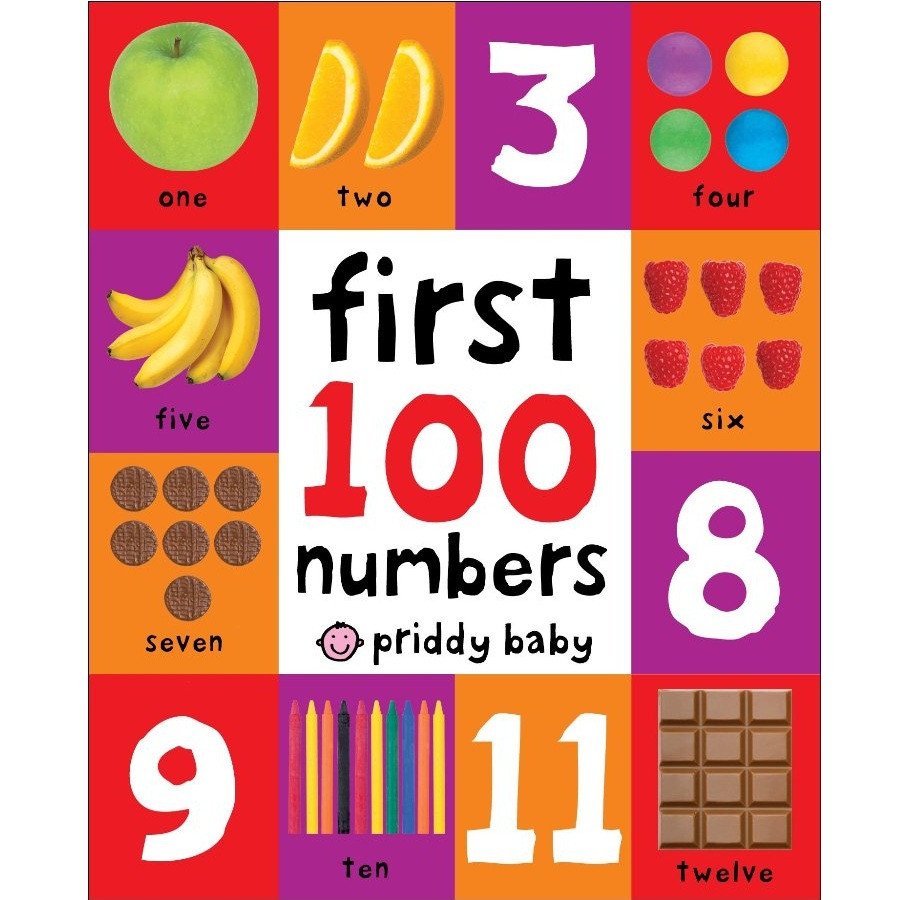 First 100 Numbers (First 100 Soft to Touch Board Books) (First 100 Board Book)