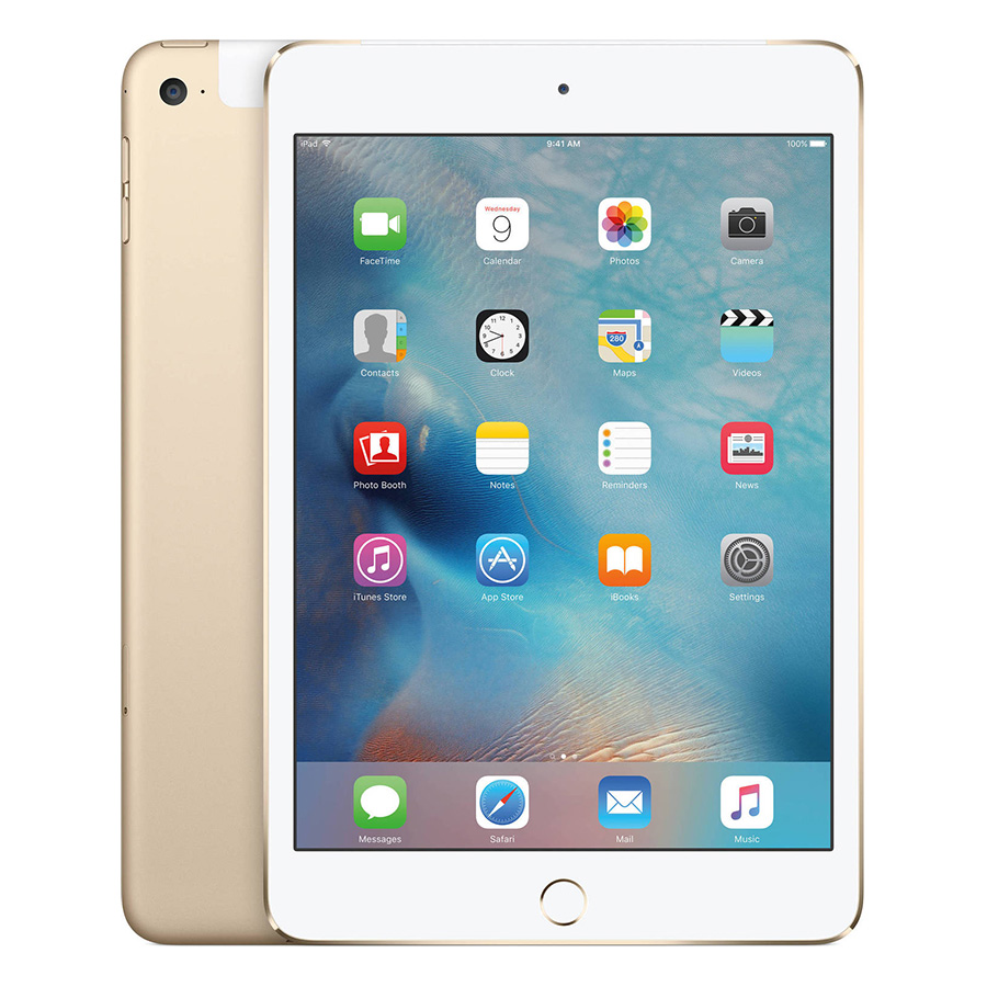 iPad Mini 4 128GB WiFi/3G/4G (Vàng) - Hàng Chính Hãng