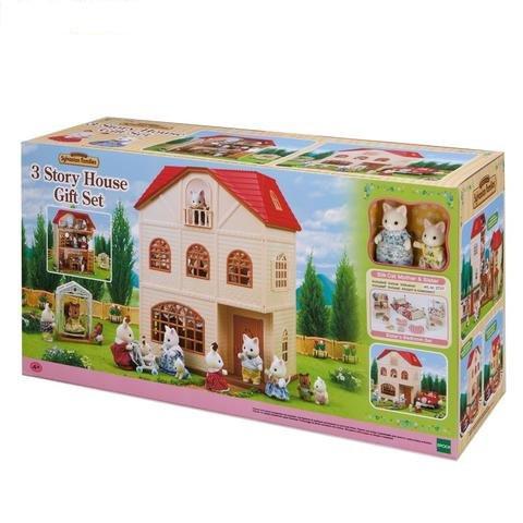 Sylvanian Families - Bộ Nhà Ba Tầng A (Gift Set) EP2737 Golden Kid
