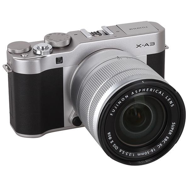 Máy Ảnh Fujifilm X-A3 Kit XC16-50mm f3.5-5.6 OIS (Bạc) + Thẻ Nhớ Sandisk 16GB Tốc Độ 48MB/s + Túi Đựng Máy Ảnh Fujifilm