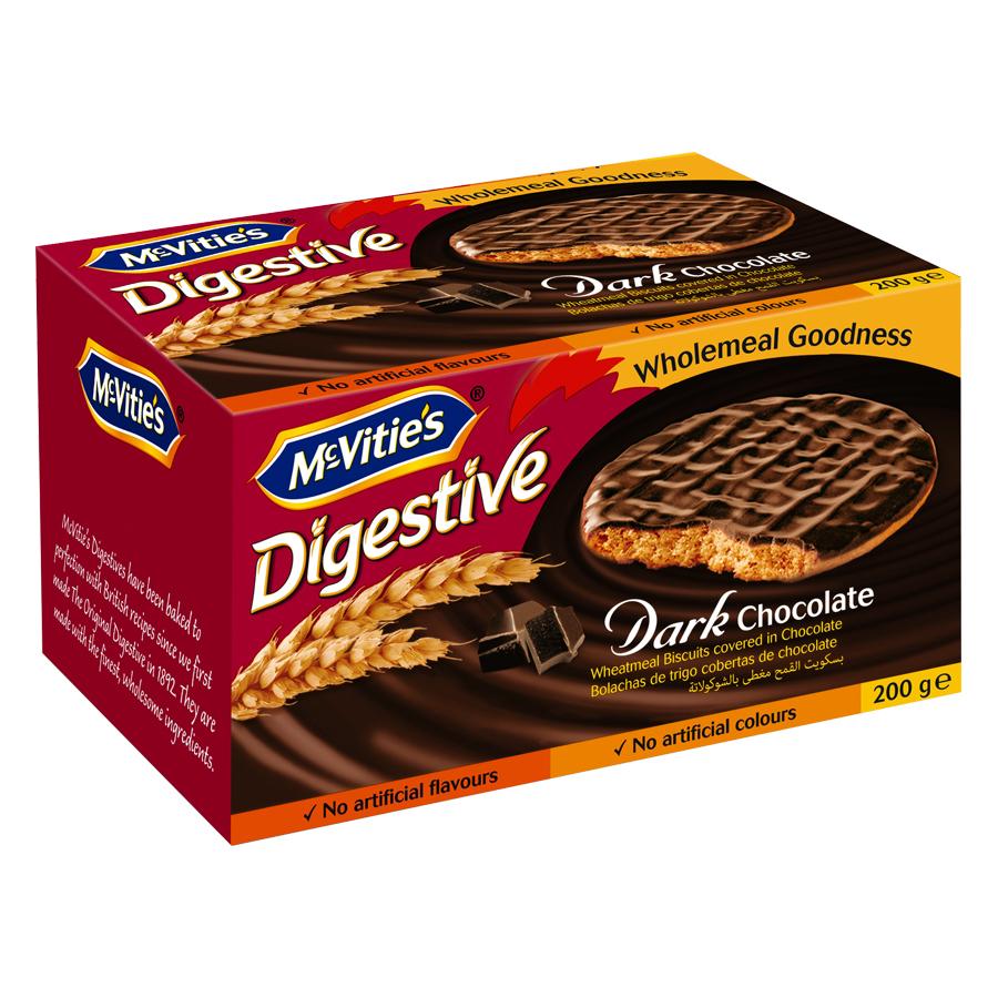 Bánh Mcvitie's Digestive Dark Chocolate (200g)