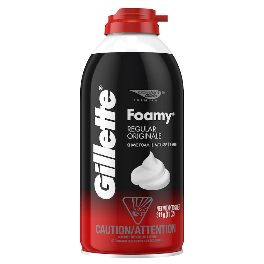 Bột Cạo Râu Gillette Regular Original Nắp Đỏ