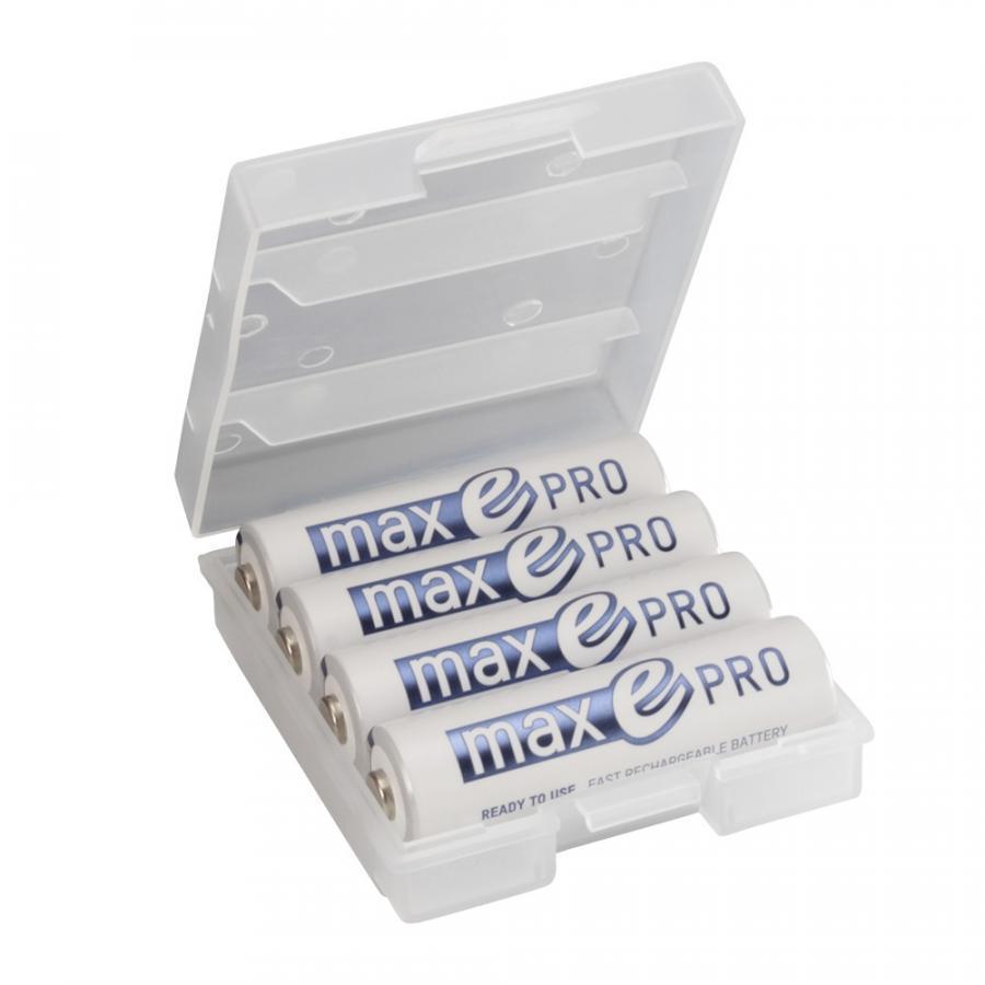 Pin Sạc AA Max-E Pro tốt nhất của ANSMANN (Hộp 4 viên)