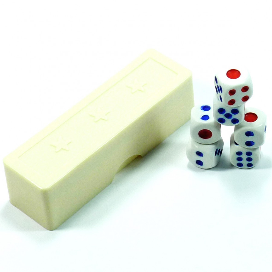Đồ chơi ảo thuật: 6 viên xí ngầu ma