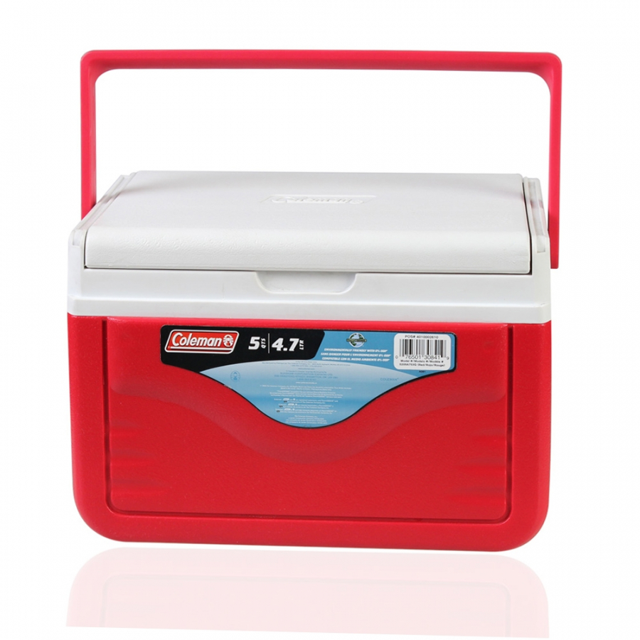 Thùng giữ nhiệt Coleman 5205A753G - 4.7L - Đỏ - Flipid 6 Personal Cooler (Red)