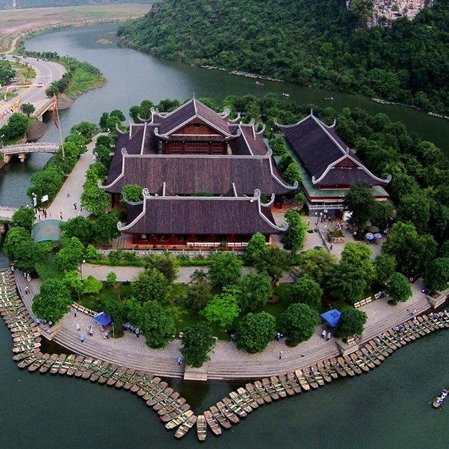 Tour tham quan chùa Bái Đính - khu du lịch Tràng An 1 ngày