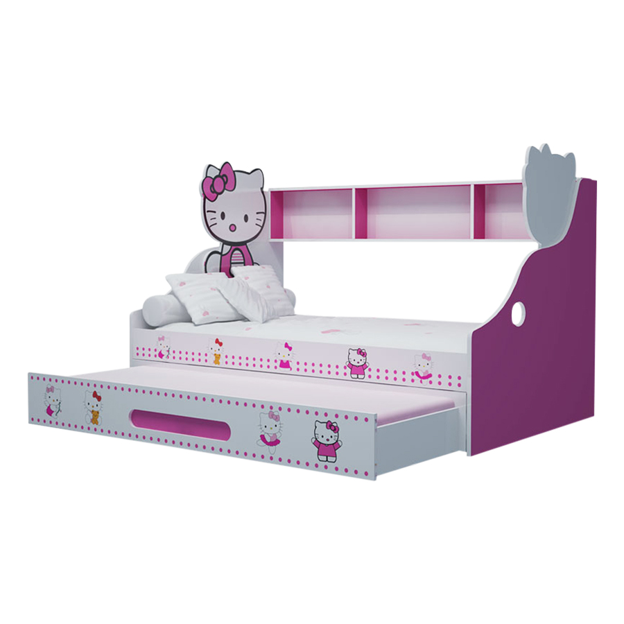Giường Tầng Thấp Hello Kitty IBIE