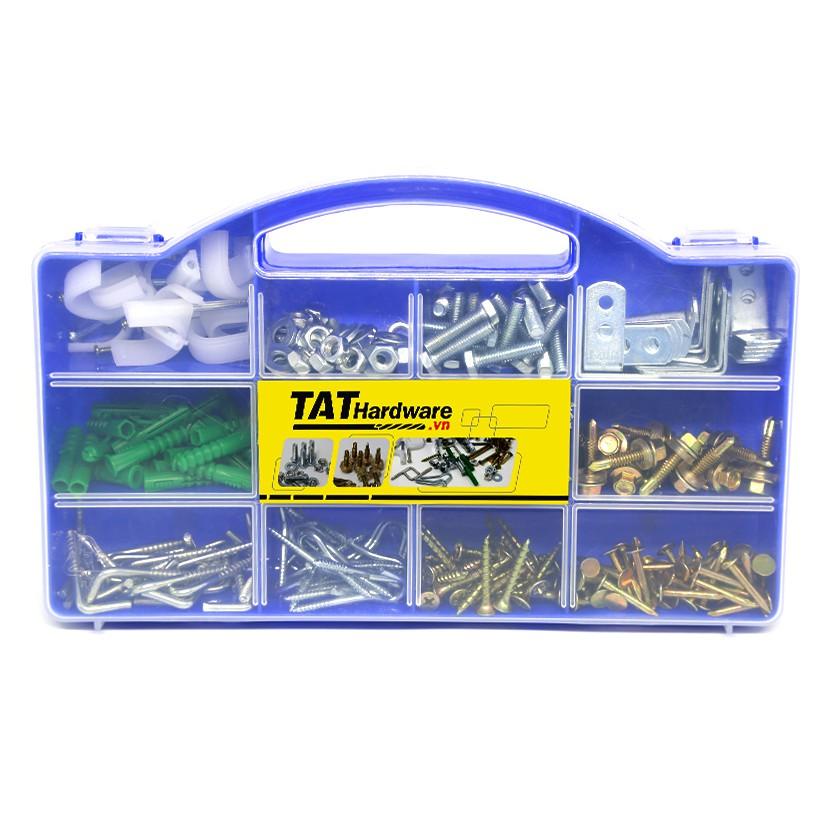 Hộp phụ tùng tiện dụng TAT Hardware HW-001 với 323 chi tiết