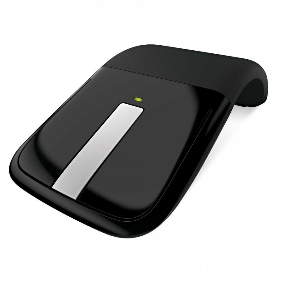 Chuột không dây Wireless Microsoft Arc Touch RVF-00054 (Màu đen) - Hàng Chính Hãng
