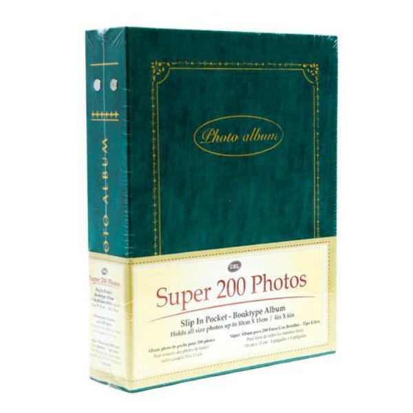 Tập Ảnh Bìa Giấy Uncle Bills SA0001 (200 Tấm) - Màu Ngẫu Nhiên