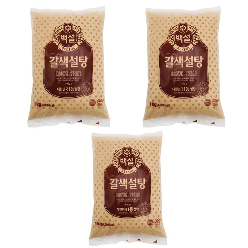 Combo 2 Gói Đường Nâu Vàng CJ (1Kg/Gói) - Nhập khẩu Hàn Quốc