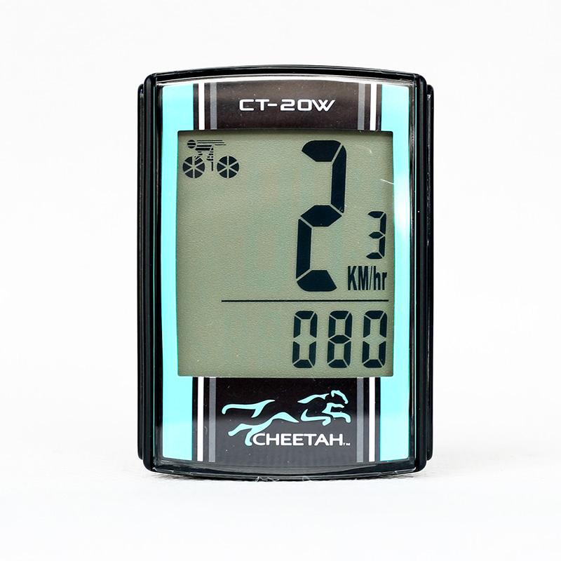 Đồng hồ đo tốc độ đạp xe CHEETAH không dây 20 chức năng (Wireless)