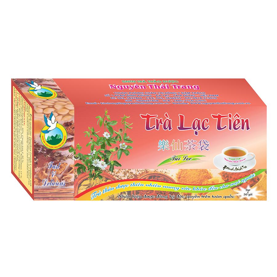 Trà Lạc Tiên Giúp Ăn Ngủ Ngon Nguyên Thái Trang (2g x 50 Gói)