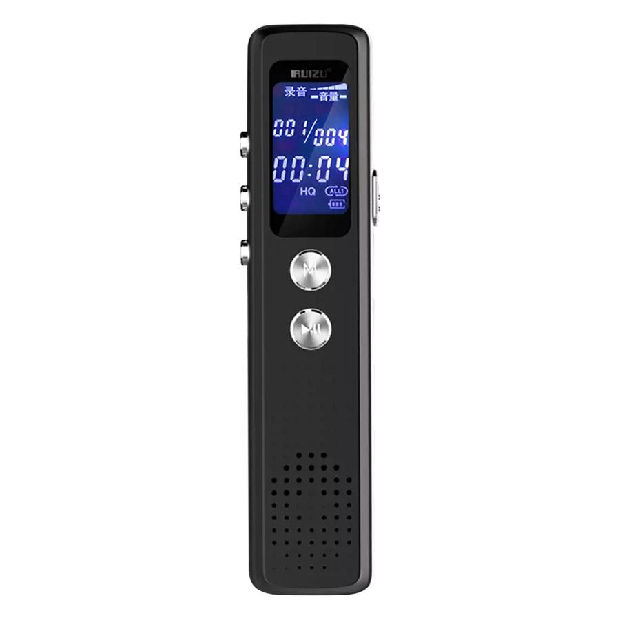 Máy Ghi Âm Stereo Ruizu K15 8GB (Đen) - Hàng Chính Hãng