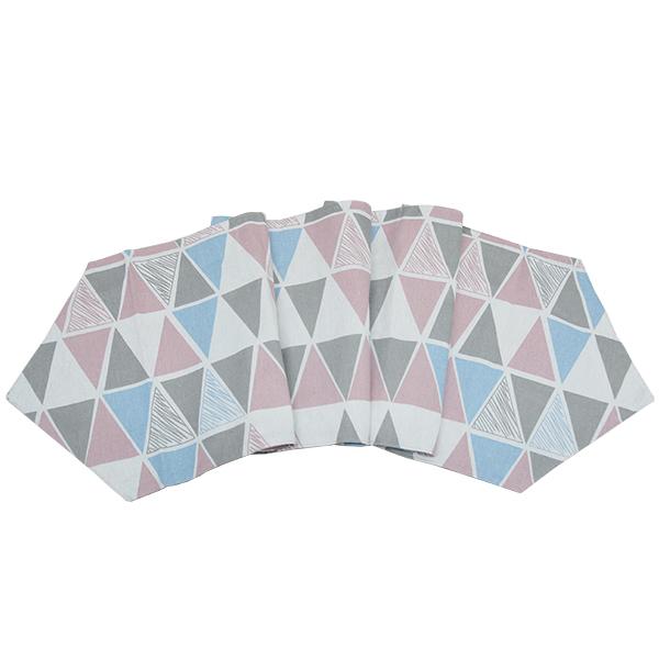Khăn trải bàn table runner tam giác KTB-MS