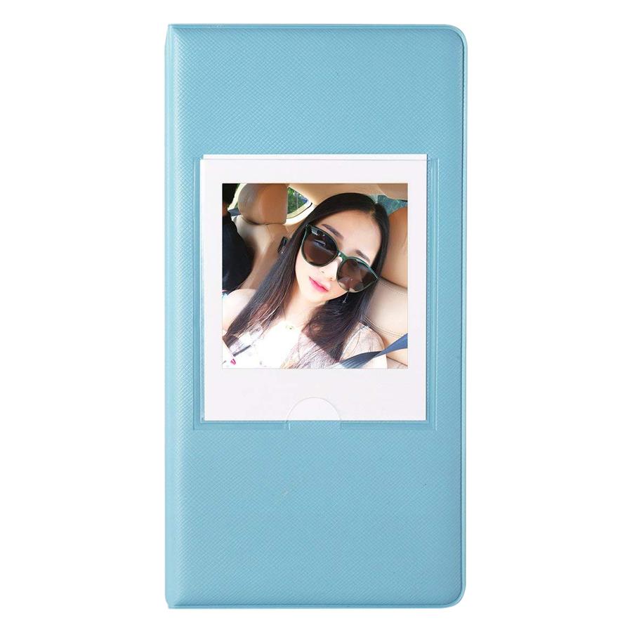 Album Đựng Ảnh Instax Square 65 Tấm (Sky Blue) - Hàng Nhập Khẩu