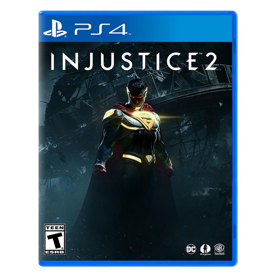 Đĩa Game PlayStation PS4 Sony Injustice 2 Hệ US