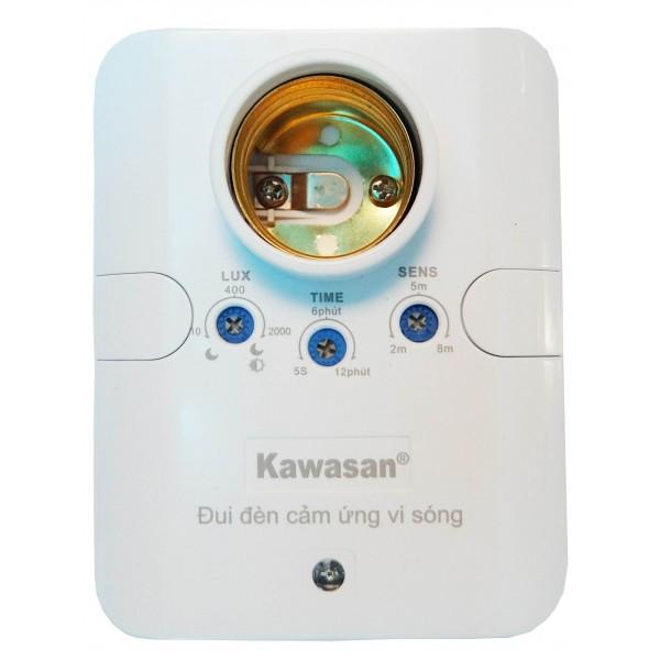 Đui đèn cảm ứng vi sóng kawasan KW-RS686B