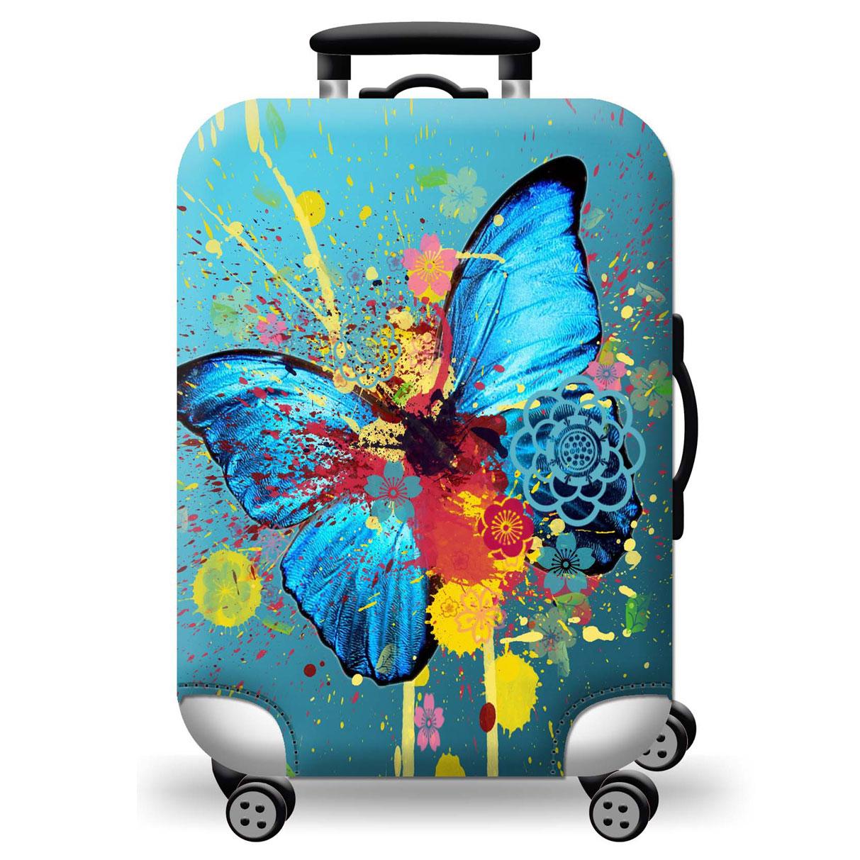 Túi bọc bảo vệ vali -Áo vỏ bọc vali - Zooyoo -Butterfly