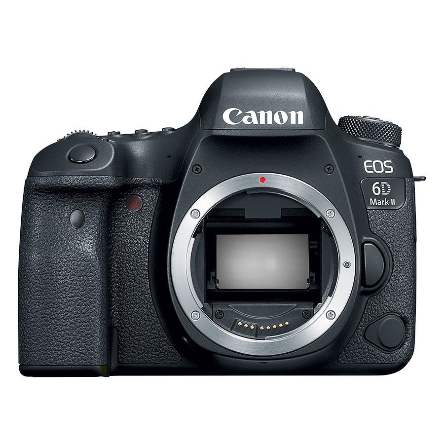 Máy Ảnh Canon 6D Mark II Body - Hàng Chính Hãng (Tặng Thẻ 32GB + Túi Máy + Tấm Dán LCD)