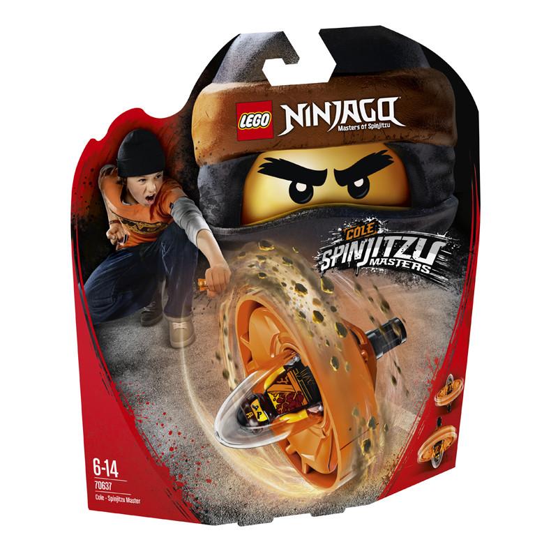 Đồ chơi xếp hình Lego Ninjago 70637 Cao Thủ Lốc Xoáy Cole