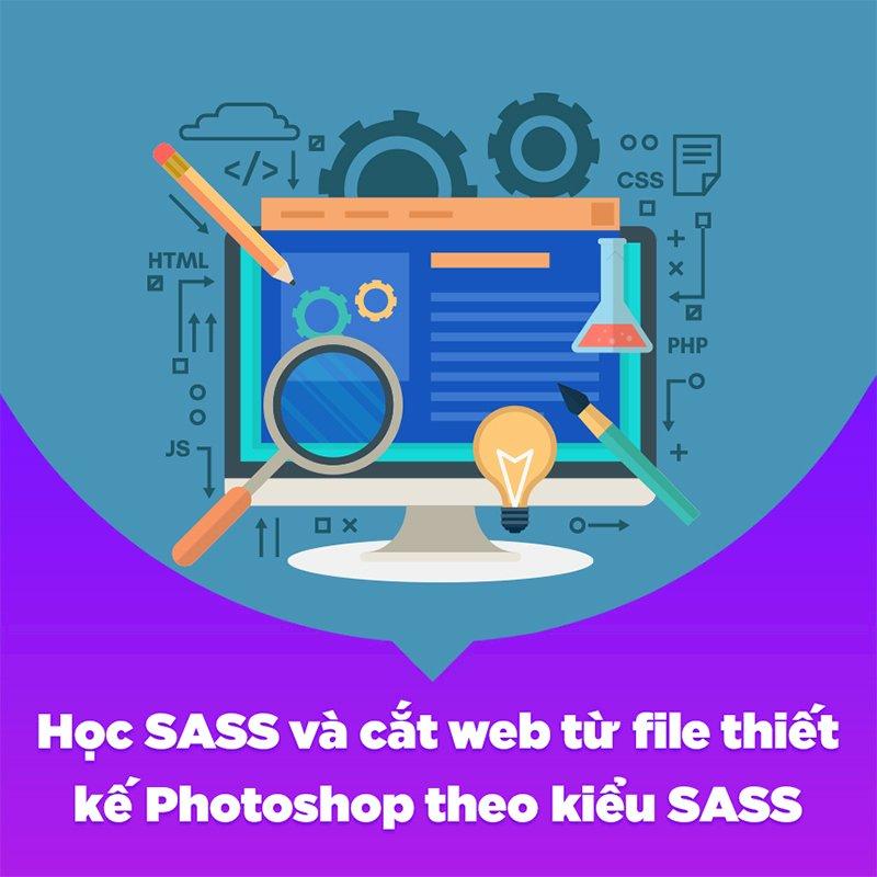 KYNA - Khóa Học Học SASS Và Cắt Web Từ File Thiết Kế Photoshop Theo Kiểu SASS