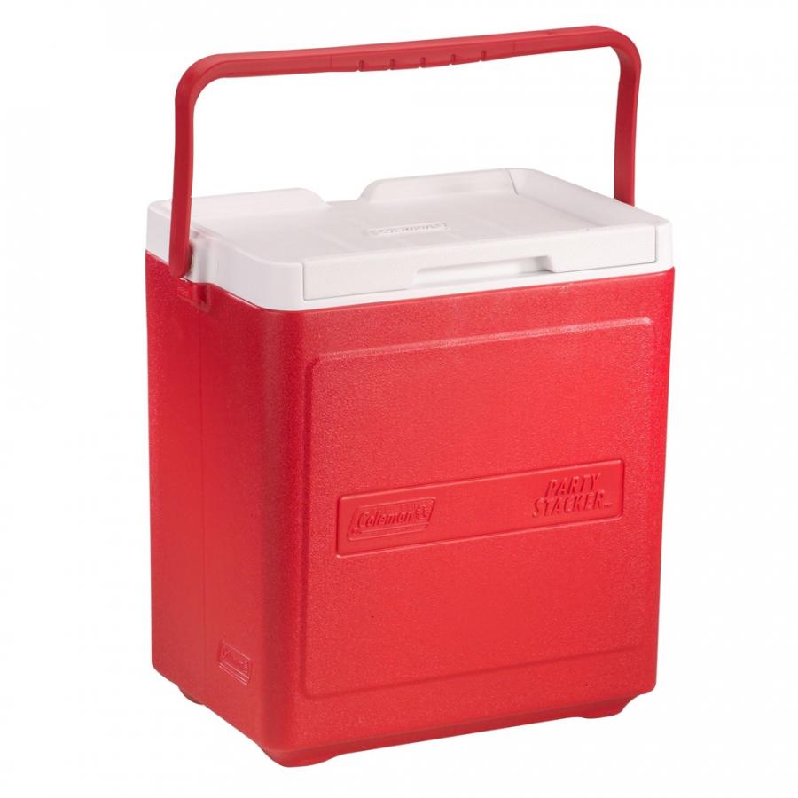 Thùng giữ nhiệt Coleman 20 lon 3000000484 - Đỏ - Cooler 20 Can Stacker (Red)