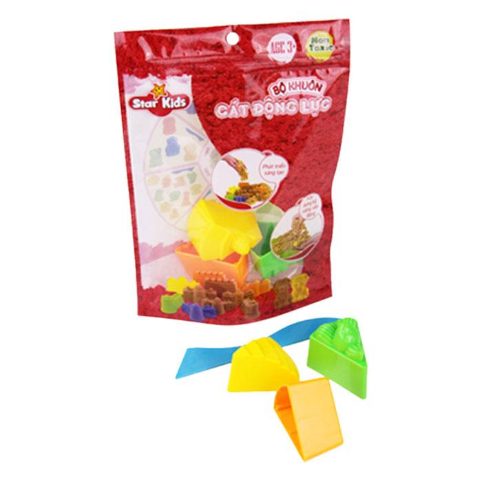Bộ Khuôn Cát 3D Hình Bánh Gato STAR KIDS K403 (7 Cái)